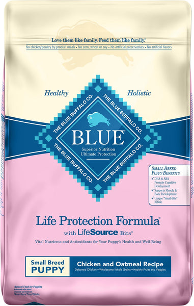 Blue Buffalo - Life Protection Formula - Chicken & Oatmeal Recipe (Puppy Dry Dog Food)