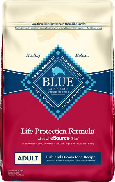 Blue Buffalo - Life Protection Formula - Fish & Brown Rice Recipe (Adult Dry Dog Food)