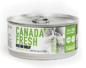 Canada Fresh - Wet Beef Formula for Cats