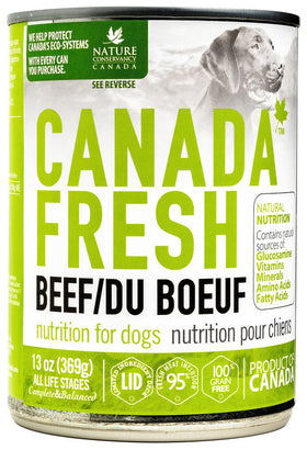 Canada Fresh - Wet Beef Formula for Dogs