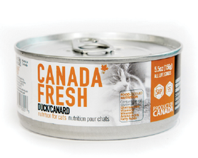 Canada Fresh - Wet Duck Formula for Cats