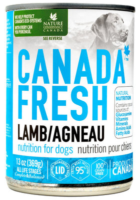 Canada Fresh - Wet Lamb Formula for Dogs