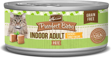 Merrick - Purrfect Bistro Grain Free Indoor Adult Pâté (Canned Adult Cat Food)