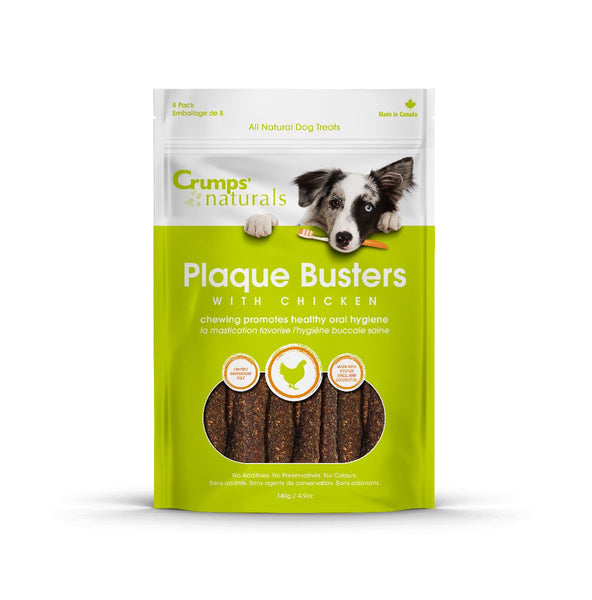 Crumps' Natural Plaque Busters with Chicken Treat