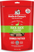 Stella & Chewy's - Duck Duck Goose Dinner Patties Freeze-Dried Raw Dog Food