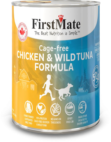 FirstMate - Grain Free - 50/50 Cage Free Chicken & Wild Tuna - ARMOR THE POOCH™