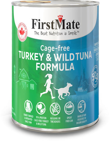 FirstMate - Grain Free - 50/50 Cage Free Turkey and Wild Tuna