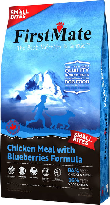 FirstMate - Grain Free - Chicken & Blueberries Small Bites