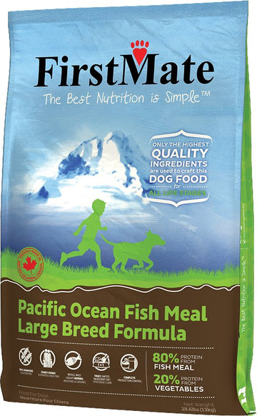 FirstMate - Grain Free - Pacific Ocean Fish - Large Breeds