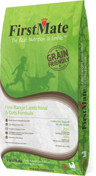 FirstMate - Grain Friendly - Free Range Lamb & Oats - ARMOR THE POOCH