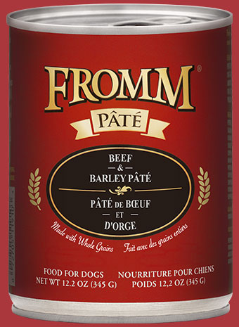 Fromm - Beef & Barley Pâté (Wet Dog Food)
