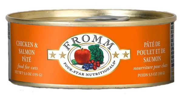 Fromm - Chicken & Salmon Pâté (Wet Cat Food)