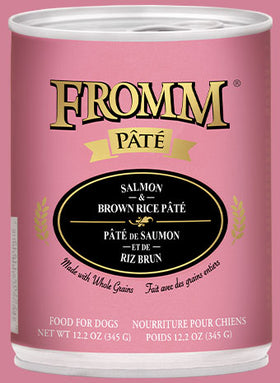 Fromm - Salmon & Brown Rice Pâté (Wet Dog Food)