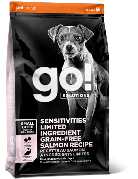 Go! SOLUTIONS - Sensitivities - Limited Ingredient Grain Free Small Bites Salmon Recipe (Dry Senior Dog Food)