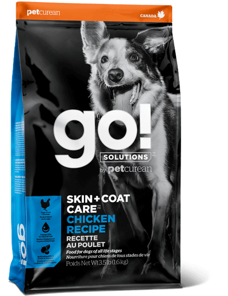 Go! SOLUTIONS - Skin & Coat Care - Chicken Recipe (Dry Dog Food)
