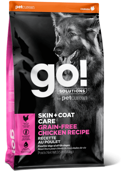Go! SOLUTIONS - Skin & Coat Care - Grain Free Chicken Recipe (Dry Dog Food)