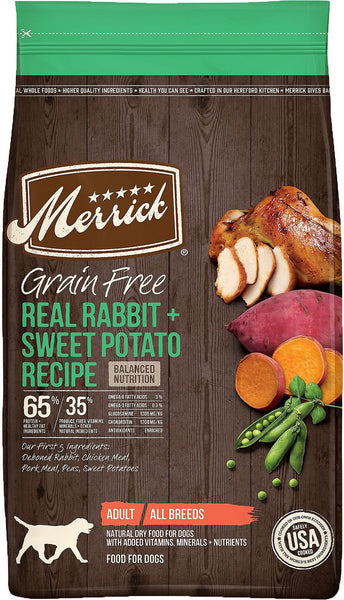 Merrick Grain-Free Rabbit + Sweet Potato Recipe