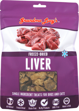 Grandma Lucy's - Freeze-Dried Singles Liver Dog & Cat Treats
