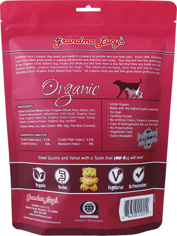 Grandma Lucy's - Organic Cranberry Oven Baked Dog Treats