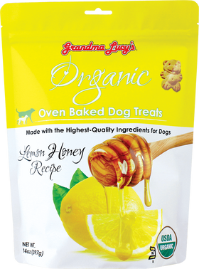 Grandma Lucy's - Organic Lemon Honey Oven Baked Dog Treats