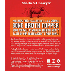 Stella & Chewy's - Grass-Fed Beef Broth