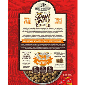 Stella & Chewy's - Grass-Fed Beef Raw Coated Kibble (Grain Free Dry Dog Food)