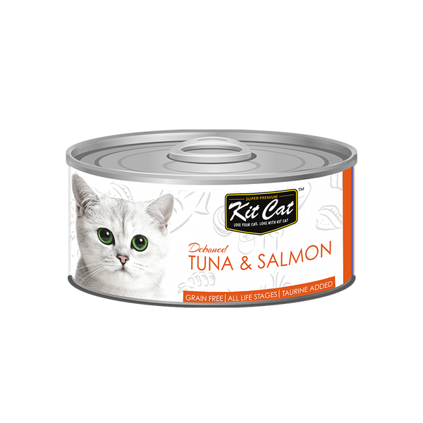 Kit Cat - Deboned Tuna & Salmon Toppers (Wet Cat Food)
