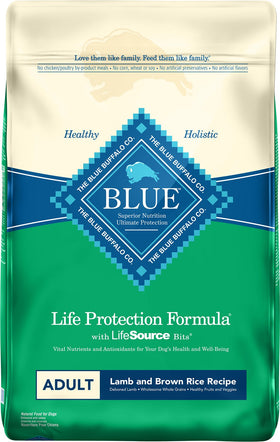 Blue Buffalo - Life Protection Formula - Lamb & Brown Rice Recipe (Adult Dry Dog Food)