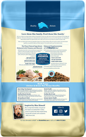 Blue Buffalo - Life Protection Formula - Chicken & Brown Rice Recipe (Puppy Dry Dog Food)