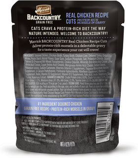Merrick - Backcountry Real Chicken Recipe Cuts (Grain Free Adult Wet Cat Food)