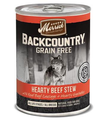 Merrick - Backcountry Hearty Beef Stew (Grain Free Wet Dog Food)