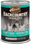 Merrick - Backcountry Hearty Duck & Venison Stew (Grain Free Wet Dog Food)