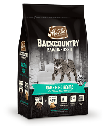 Merrick - Backcountry Raw Infused Game Bird Recipe (Grain Free Adult Dry Cat Food)