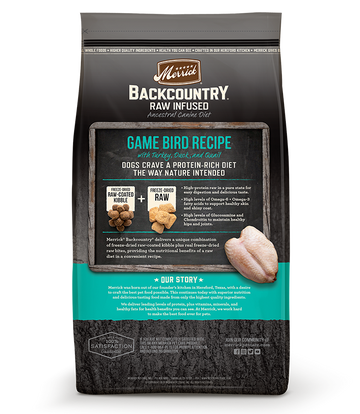 Merrick - Backcountry Raw Infused Game Bird Recipe (Grain Free Adult Dry Dog Food)