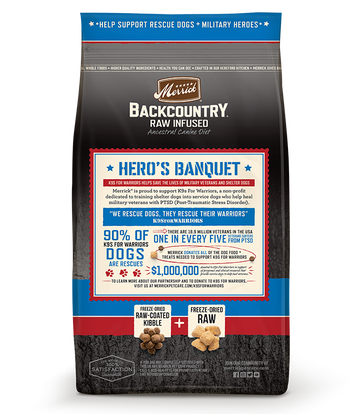 Merrick - Backcountry Raw Infused Hero's Banquet (Grain Free Adult Dry Dog Food)