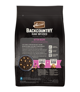 Merrick - Backcountry Raw Infused Kitten Recipe (Grain Free Dry Kitten Food)