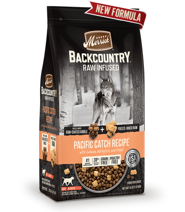 Merrick - Backcountry Raw Infused Pacific Catch Recipe (Grain Free Adult Dry Dog Food)