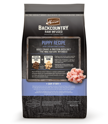 Merrick - Backcountry Raw Infused Puppy Recipe (Grain Free Dry Puppy Food)