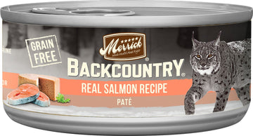Merrick - Backcountry Real Salmon Recipe Paté (Grain Free Wet Cat Food)