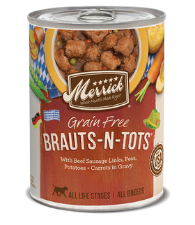 Merrick - Grain-Free Brauts-N-Tots (Wet Dog Food)