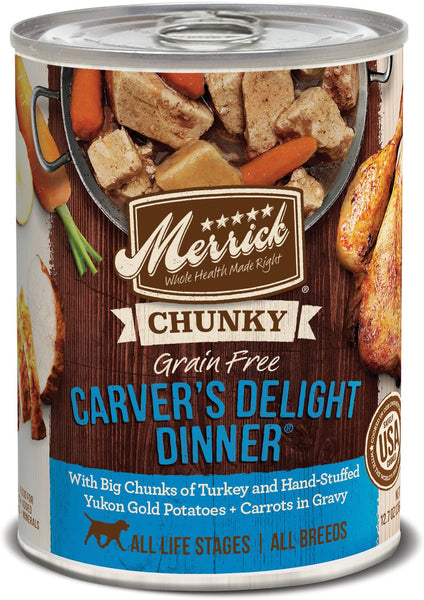 Merrick Grain-Free Carver's Delight Dinner