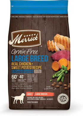 Merrick - Grain-Free Chick + Sweet Potato Recipe (Large Breed Adult Dry Dog Food)