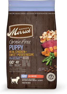Merrick - Grain-Free Real Chicken & Sweet Potato Recipe (Puppy Dry Dog Food)