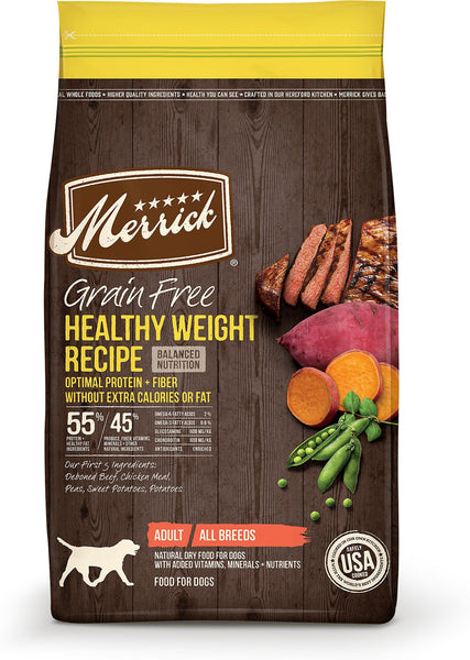 Merrick - Grain-Free Healthy Weight Recipe (Adult Dry Dog Food) - ARMOR THE POOCH