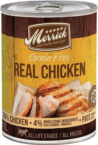 Merrick Grain-Free Real Chicken