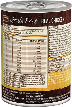 Merrick - Grain-Free Real Chicken (Wet Dog Food)