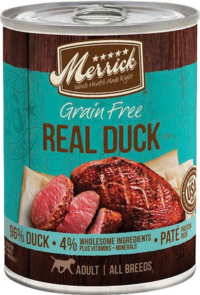 Merrick - Grain-Free Real Duck (Wet Dog Food)