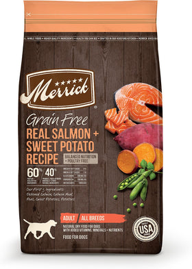 Merrick - Grain-Free Real Salmon & Sweet Potato Recipe (Adult Dry Dog Food)