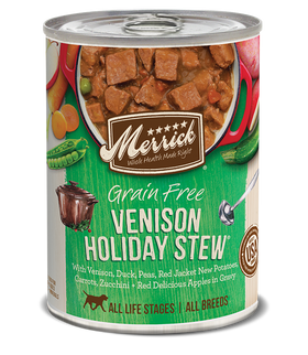 Merrick - Grain-Free Venison Holiday Stew (Wet Dog Food)