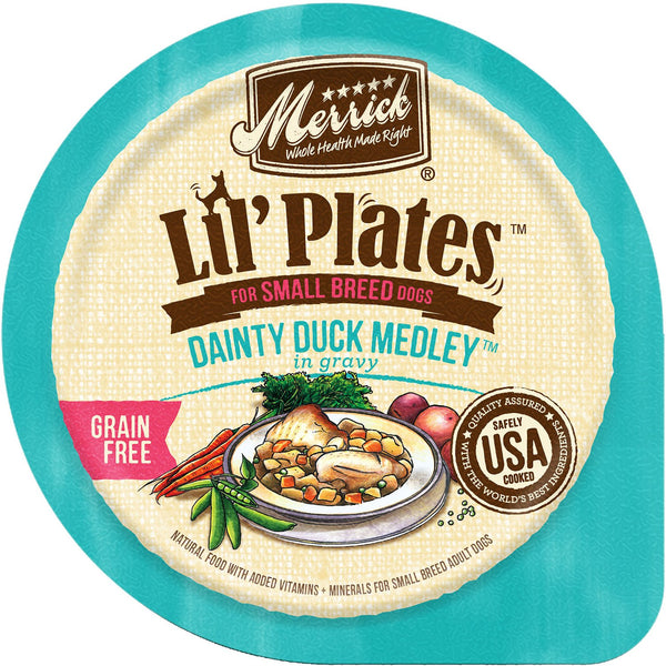 Merrick Lil' Plates Grain Free Dainty Duck Medley (Wet Dog Food)
